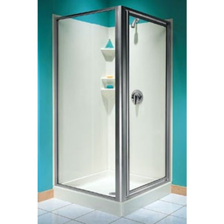 Swanstone Sd 36neo C Neo Angle Shower Door Clear Glass