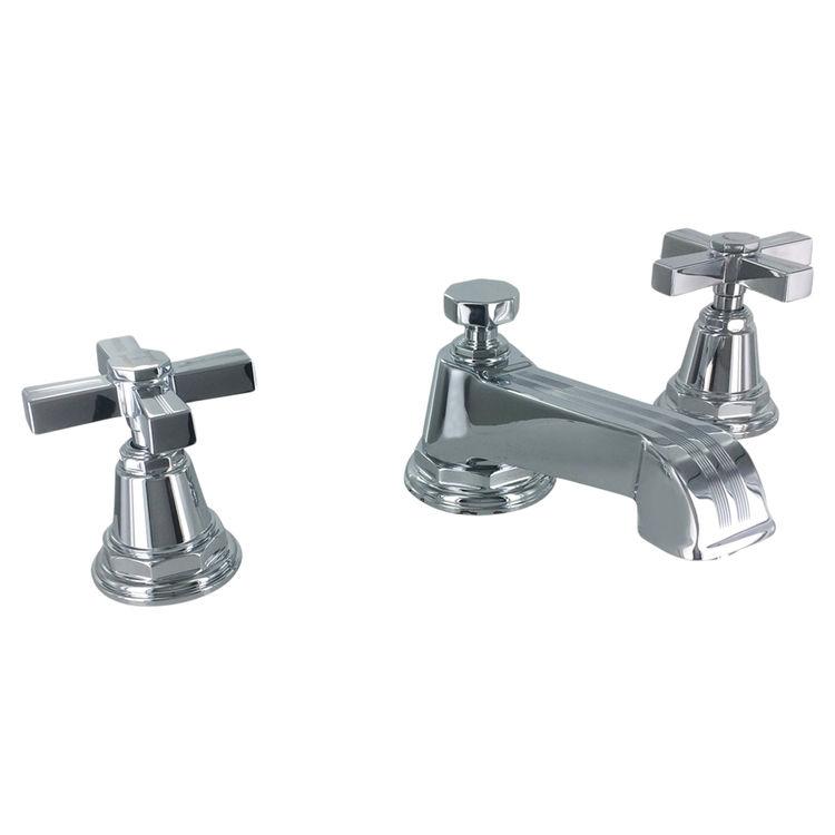 Kohler K 13132 3b Cp Pinstripe Polished Chrome Widespread Bathroom Faucet Plumbersstock