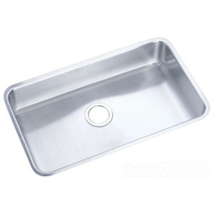 ada undermount kitchen sink elkay eluhad281645 gourmet ada undermount single bowl sink 3986